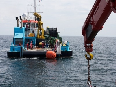 umbilical Floatgen câble export