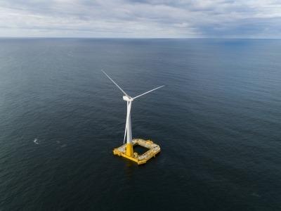 éolienne offshore france