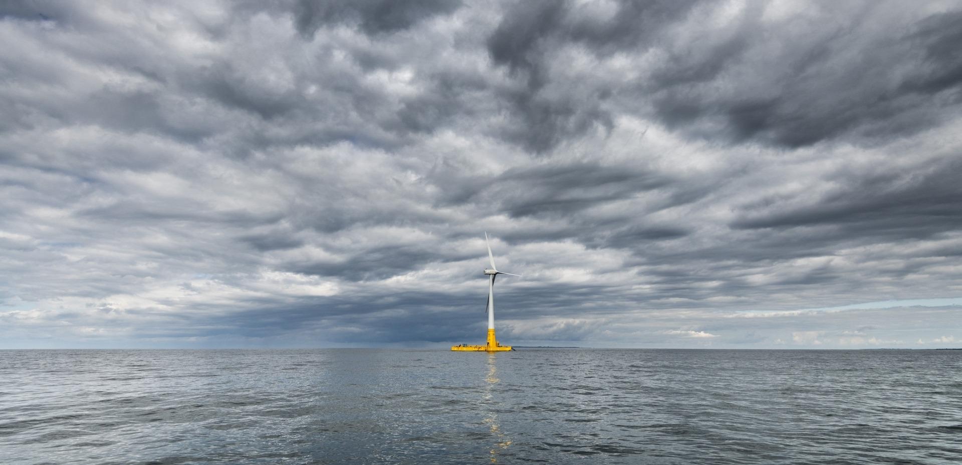 éolienne en mer france